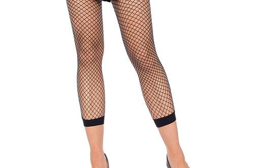 Black Footless Fishnets