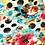 Thumbnail: Floral Polka Dot Cross Strap dress