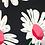 Thumbnail: 3/4 Sleeve Faux wrap top in Daisy