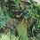 Thumbnail: Green Swirl chiffon circle skirt