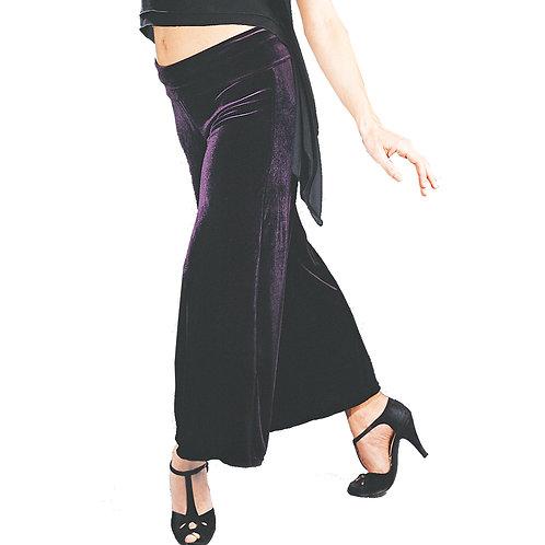 Wide waistband dance pant