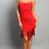 Thumbnail: Ruched Fringe dress