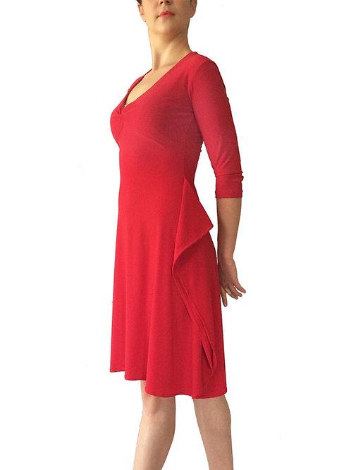 3/4 sleeve Knot Dress