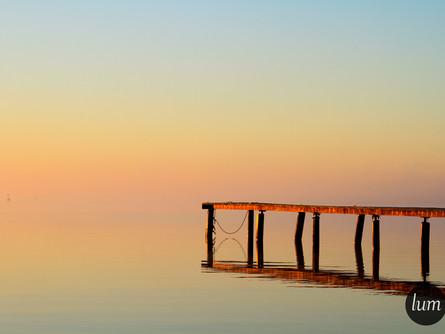 Entre ciel et lac