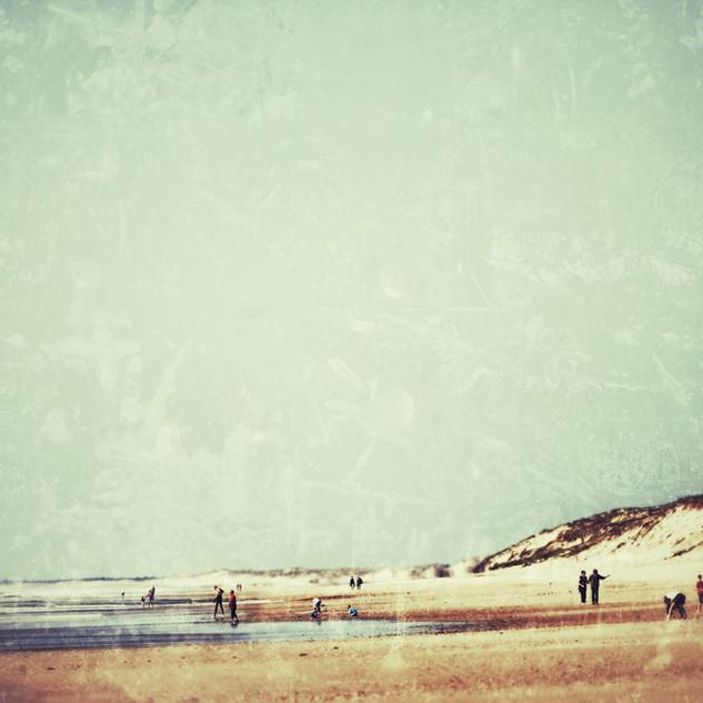 Vintage beach