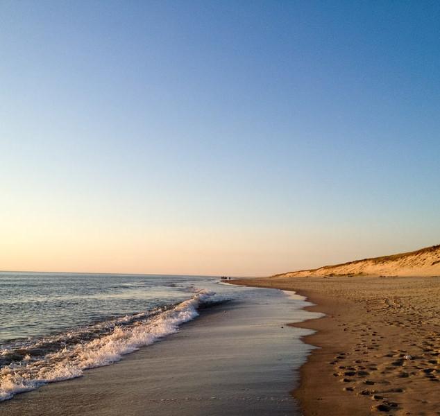 Balade du soir sur la plage