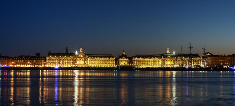 Façade des quais de Bordeaux