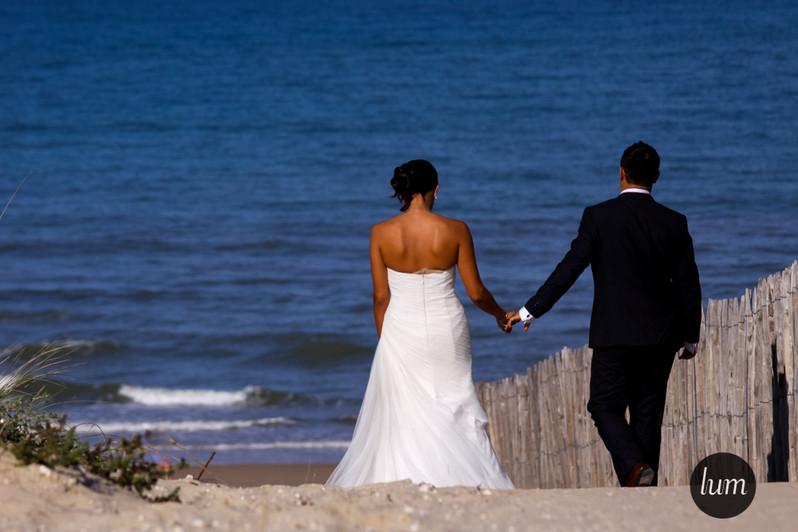 Mariage à la plage.