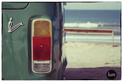 Vintage plastic surfer