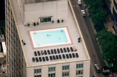 Pool on the roof, Chicago