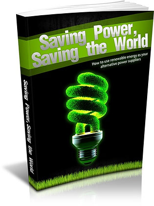 Saving Power, Saving The World