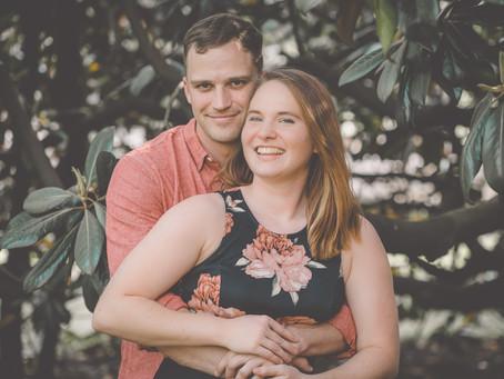 Kara & Jonathan  Downtown Roanoke Engagement
