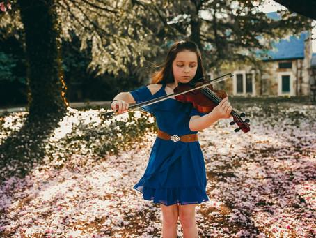 Cheyenne Grantham - Blue Grass Fiddler