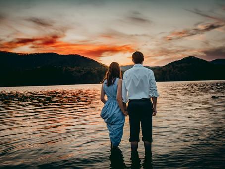Laura & David - Roanoke Engagement