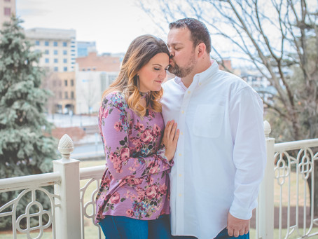 Cassie & Andy - Engagement - Hotel Roanoke & Conference Center