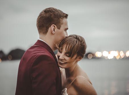 Kayla & Aaron Doherty                             Half Moon Cruise Wedding