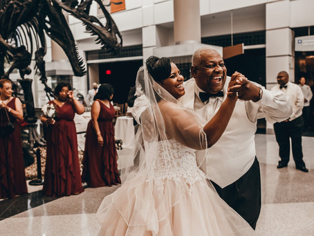 Tanya & Chester Harrison - Virginia Museum of Natural History Wedding - Martinsville, Virginia