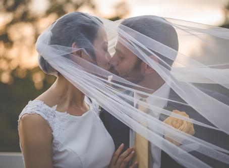 Angela & Aleksey - Sunset Ridge Buffalo Farm Wedding - Roxboro, NC