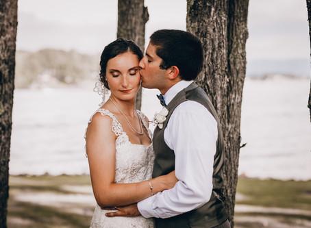 Brooke & Tayler Martin - Smith Mountain Lake, Virginia Wedding