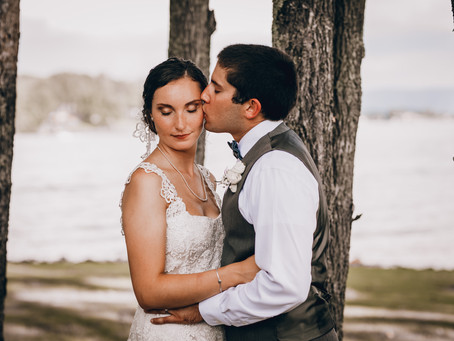 Brooke & Tayler Martin - Smith Mountain Lake, Virginia Wedding