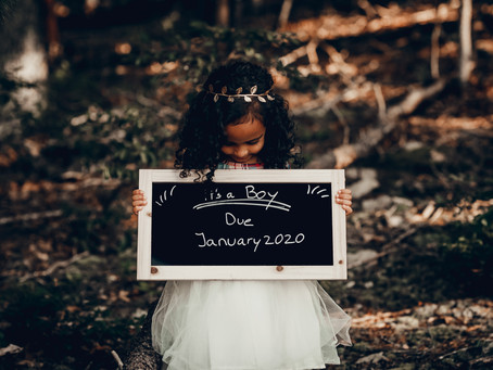 Dudley Family - Pregnancy Announcement - Carvins Cove Natural Reserve