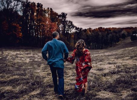 Christina & Travis - Engaged - Eagle Rock
