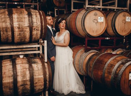 Jessica and Drannan Wyatt - Wedding Chatteau Morrisette Winery