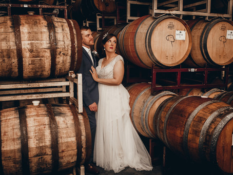 Jessica and Drannan Wyatt - Wedding Chatteau Morrisette Winery