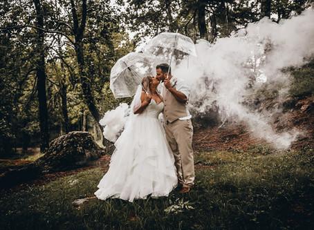 Kristen & Trae Ferrell - Silver Hearth Lodge Wedding - Bent Mountain, Virginia