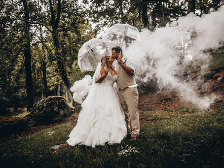 Kristen & Trae Ferrell - Silver Hearth Lodge Wedding - Bent Mountain, Virginia