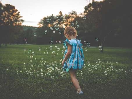 Brinley's Bubble Session