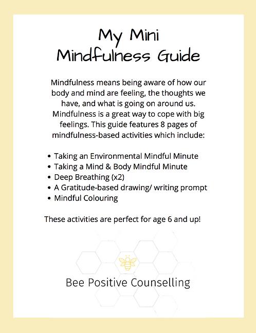 Printable PDF: Mini Mindfulness Guide