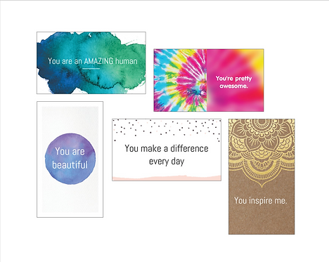 Bee Positive Card: VARIETY PACK