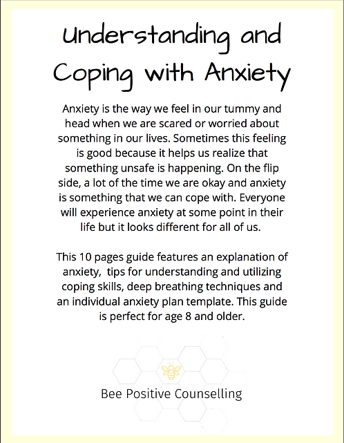 Printable PDF: Coping with Anxiety