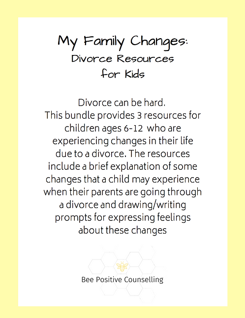 Printable PDF: My Family Changes