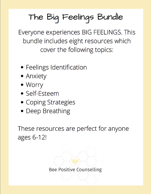 Printable PDF: Big Feelings Bundle