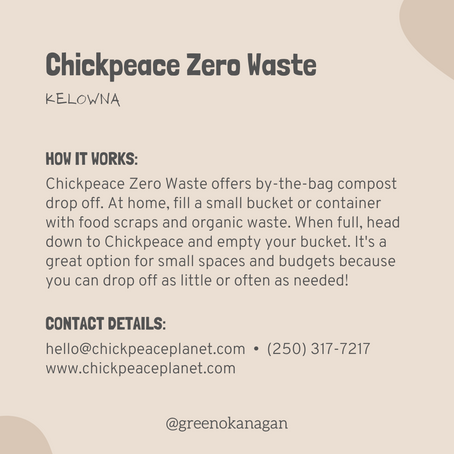 Chickpeace Zero Waste