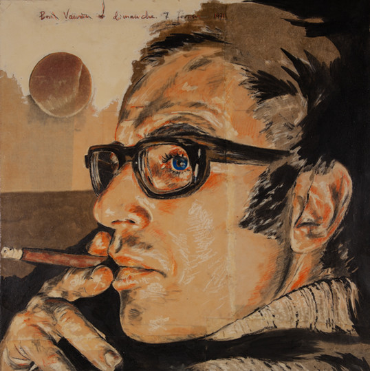 Autoportrait à la cigarette