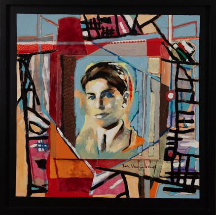 Le peintre adolescent (Autoportrait)