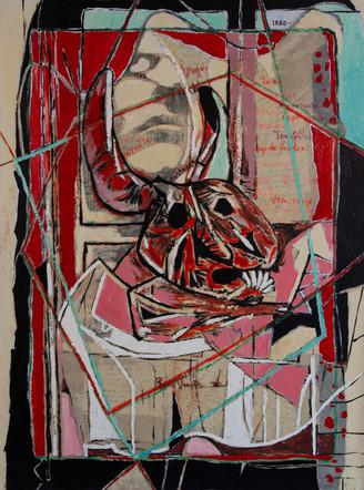 L'Ephèbe et le crâne
