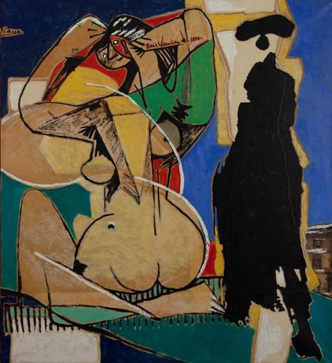 Le passant et la femme