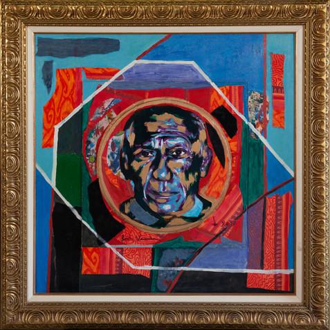 Portrait sombre du peintre (Pablo Picasso)