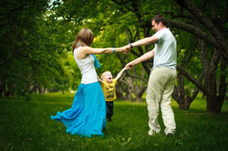 Семейная съемка в парке