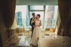 Свадебная фотосессия в Москва-Сити-25
