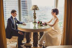 Свадебная фотосессия в Москва-Сити-19
