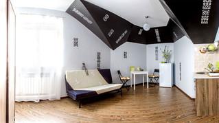 Интерьеры небольших уютных квартир-студий.