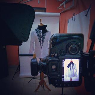 Вчера я фотографировала рубашки из коллекции Юлии Великовской
