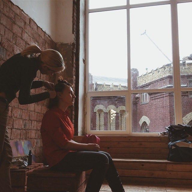 Фотосессия в студии