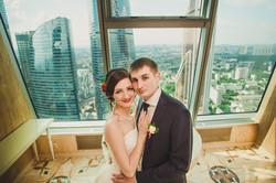 Свадебная фотосессия в Москва-Сити-21