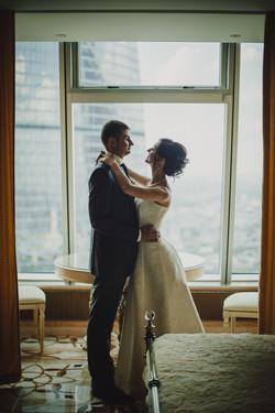 Свадебная фотосессия в Москва-Сити-24